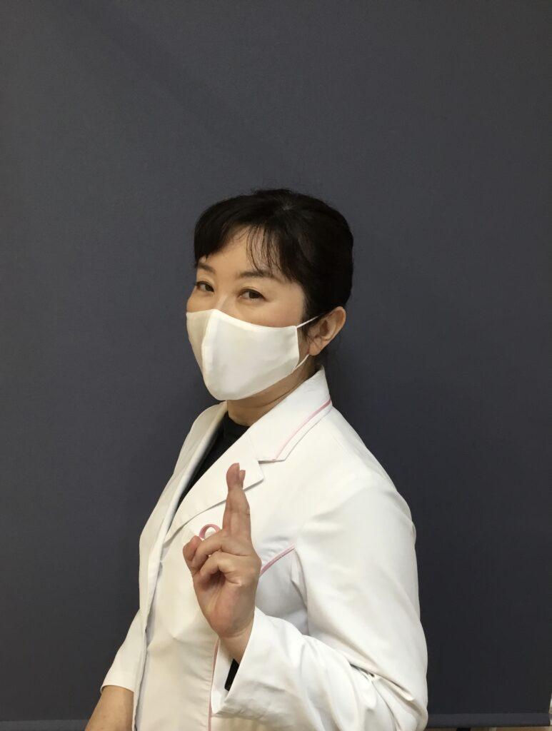 シルクのマスク